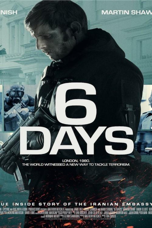 دانلود فیلم 6 Days 2017